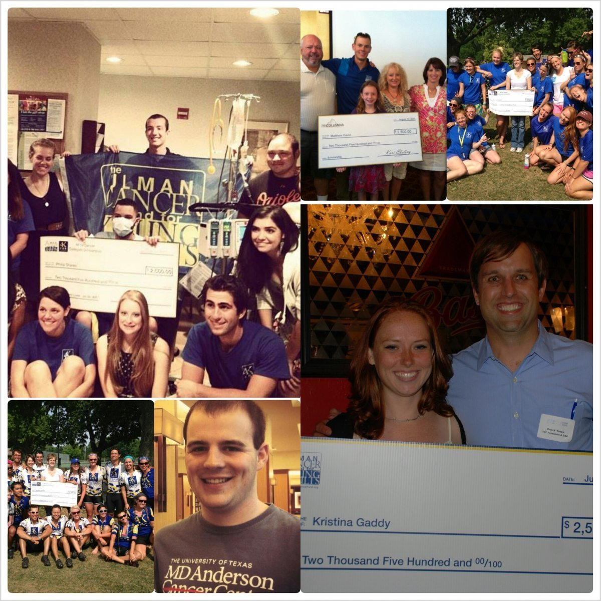 Scholarship Winner Collage